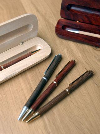 Wooden Pens & Cases